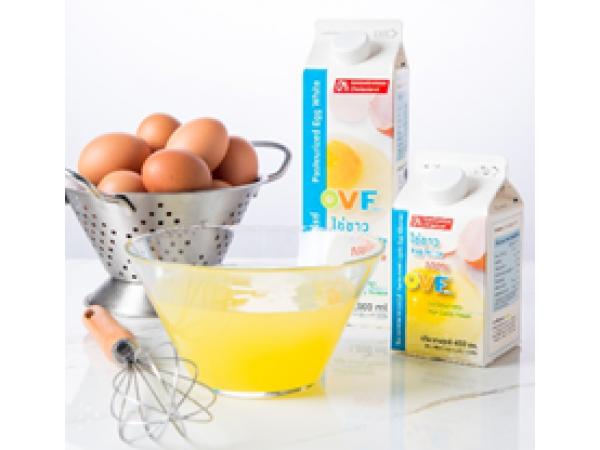 """7 ข้อดีของ """"ไข่ขาวเหลวพาสเจอร์ไรซ์ OVF"""""""