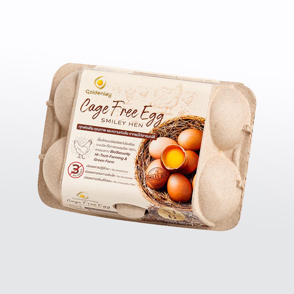 ไข่ไก่เคจฟรี